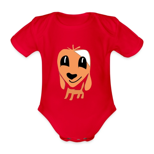 Hundefreund - Organic Short-sleeved Baby Bodysuit