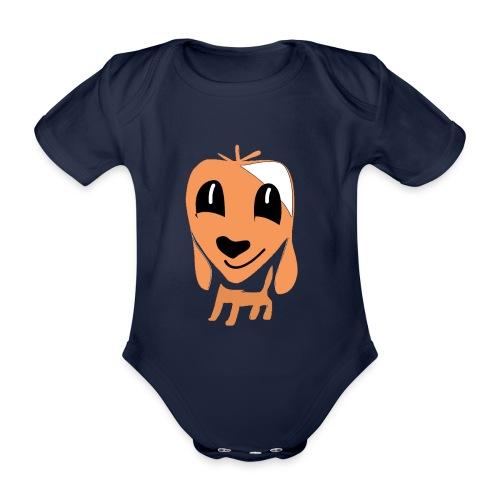 Hundefreund - Organic Short-sleeved Baby Bodysuit