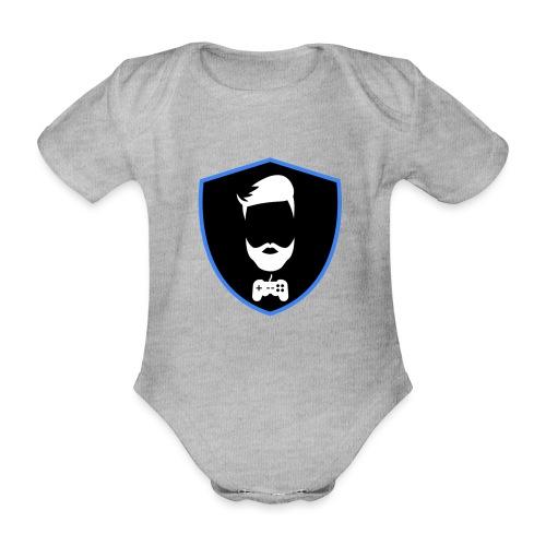 Kalzifertv-logo - Kortærmet babybody, økologisk bomuld