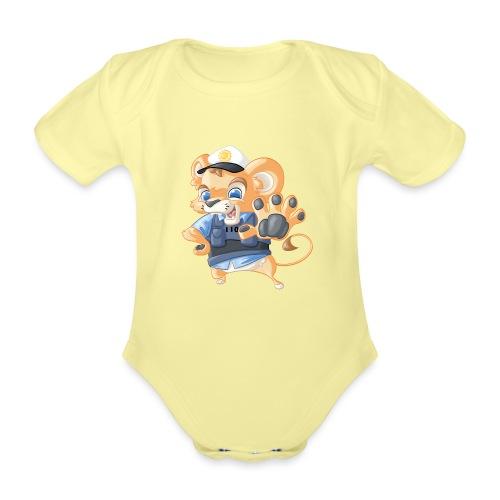 Polizei Löwe - Baby Bio-Kurzarm-Body