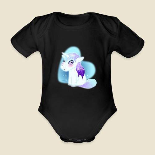 Licorne n°2 - Body Bébé bio manches courtes