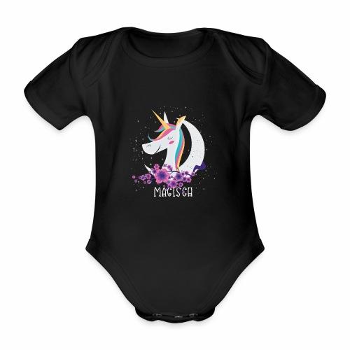 Magisches Einhorn - Baby Bio-Kurzarm-Body