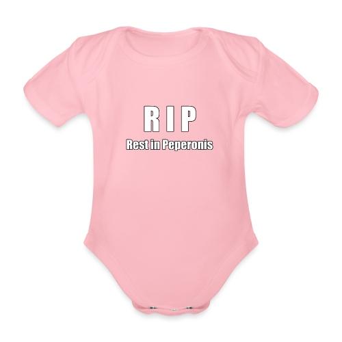 RIP Rest in Peperonis - Baby Bio-Kurzarm-Body