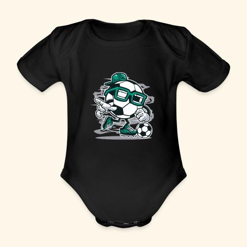 Street Soccer - Baby Bio-Kurzarm-Body