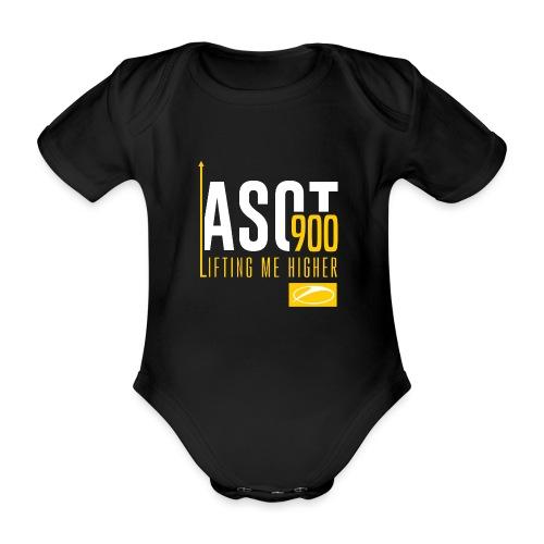 asot9003 - Organic Short-sleeved Baby Bodysuit