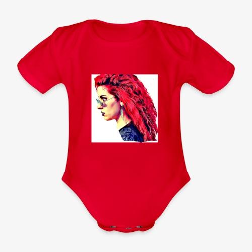 MINERVA - Body orgánico de maga corta para bebé