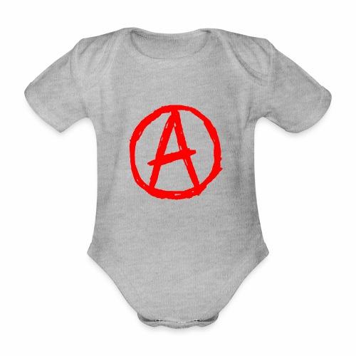 anarchie - Baby Bio-Kurzarm-Body