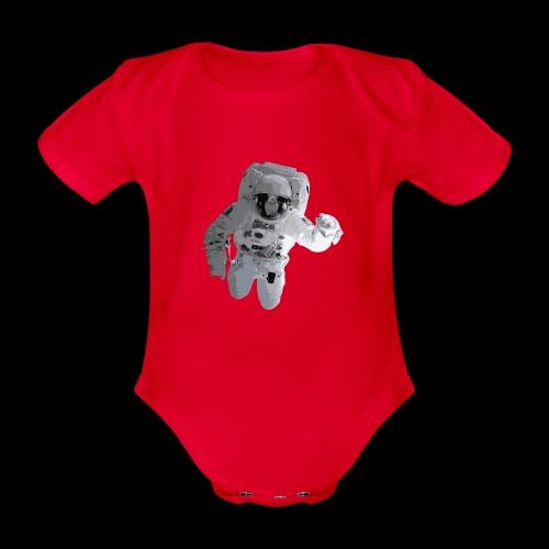 Astronaut No. 2 - Organic Short-sleeved Baby Bodysuit