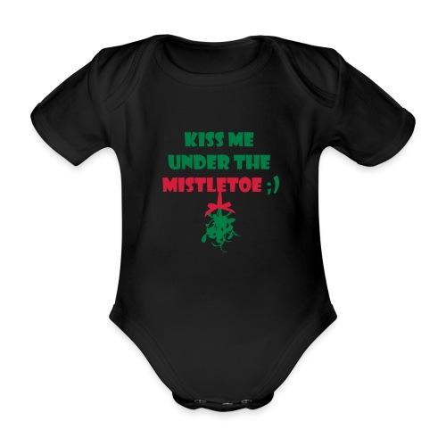 mistletoe - Baby Bio-Kurzarm-Body