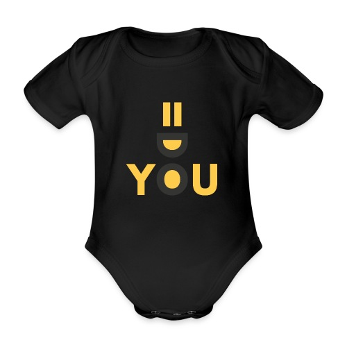 Do You Black by Dougsteins - Organic Short-sleeved Baby Bodysuit