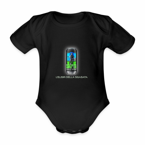 Nafta Energy Drink - Body ecologico per neonato a manica corta