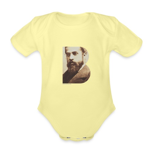 BT_GAUDI_ILLUSTRATOR - Organic Short-sleeved Baby Bodysuit