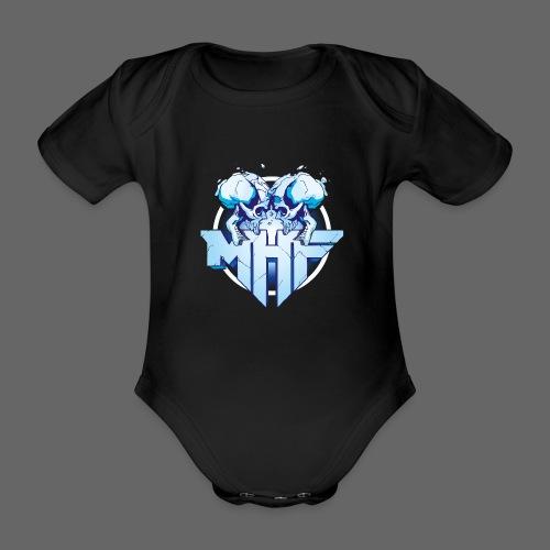 MHF New Logo - Organic Short-sleeved Baby Bodysuit