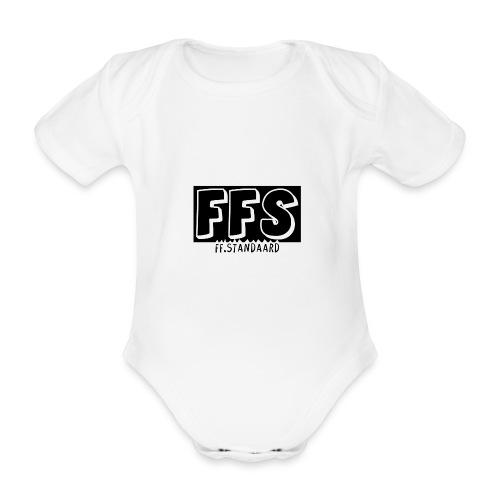 Ok doei cap - Organic Short-sleeved Baby Bodysuit