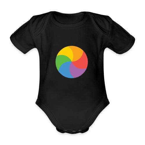 BeachBal - Baby bio-rompertje met korte mouwen