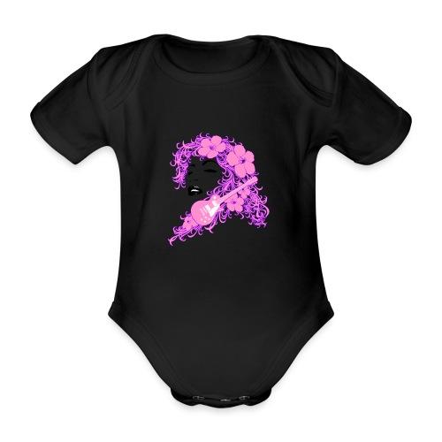 Lady Flo - Body ecologico per neonato a manica corta