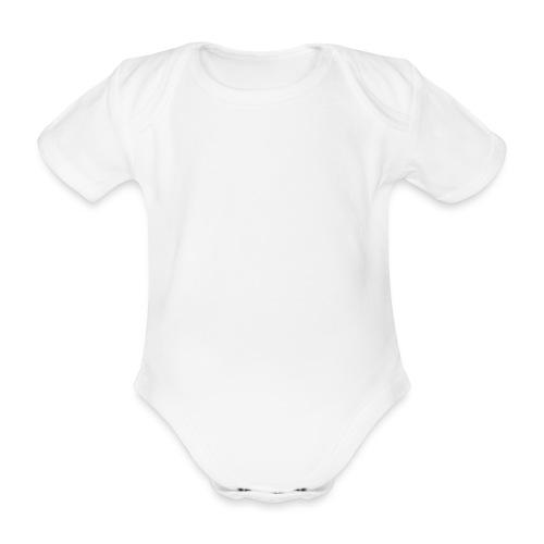 Cray Hoddie - Baby Bio-Kurzarm-Body