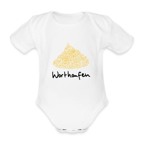 Worthaufen - Baby Bio-Kurzarm-Body