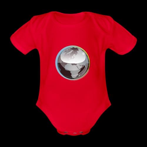 beeldmerk puretrance transparant png - Organic Short-sleeved Baby Bodysuit