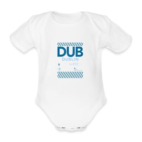 Dublin Ireland Travel - Organic Short-sleeved Baby Bodysuit