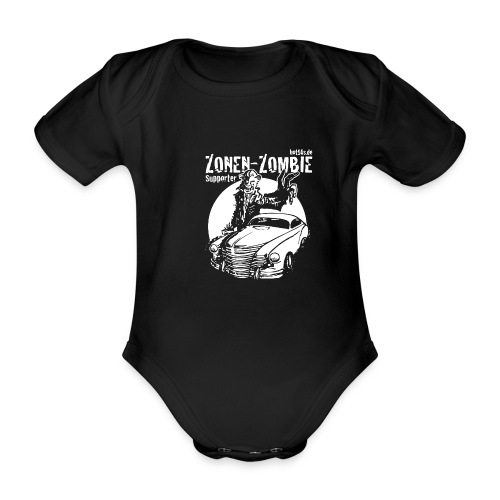 Zonen Zombie Supporter Shirt - Baby Bio-Kurzarm-Body