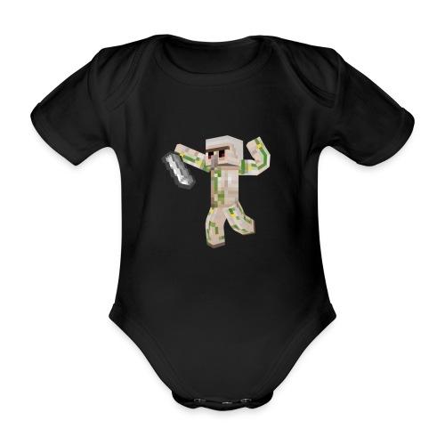 Starka GolemGamingYT - Ekologisk kortärmad babybody