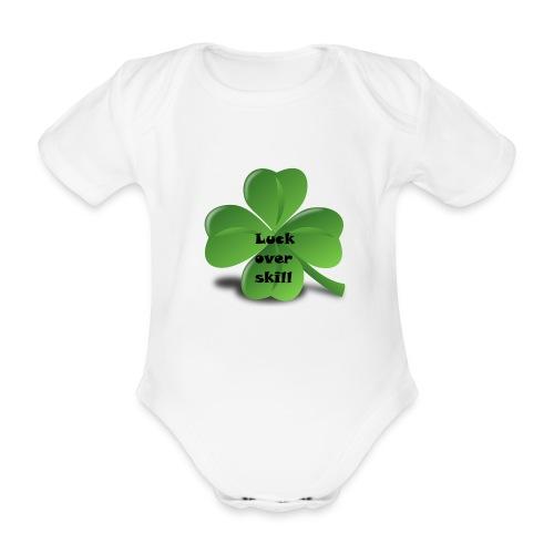 Luck over skill - Økologisk kortermet baby-body