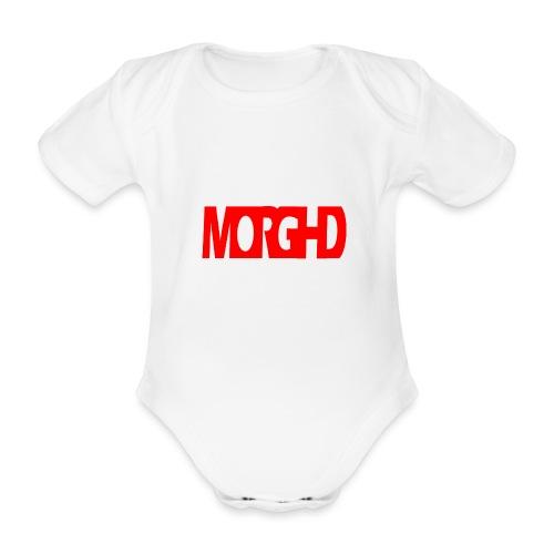 MorgHD - Organic Short-sleeved Baby Bodysuit