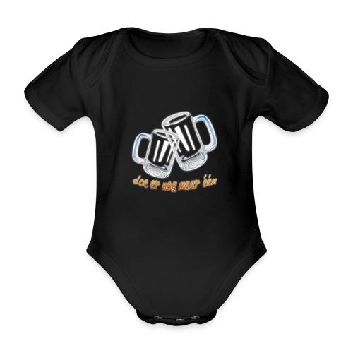 Doe er nog maar een Shirt png - Baby bio-rompertje met korte mouwen
