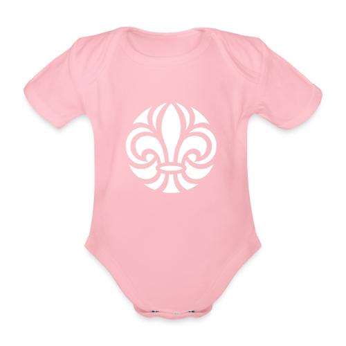 Scouterna-symbol_white - Ekologisk kortärmad babybody