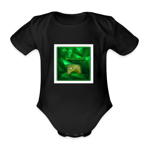 Mrgames455 - Organic Short-sleeved Baby Bodysuit