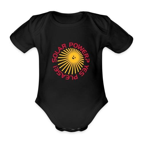 BD Solar Power - Baby Bio-Kurzarm-Body