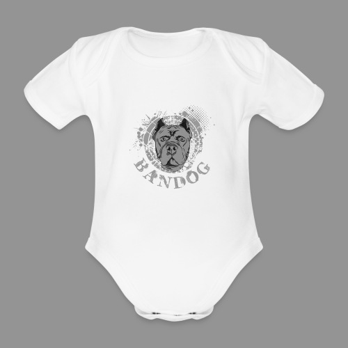 Bandog - Organic Short-sleeved Baby Bodysuit
