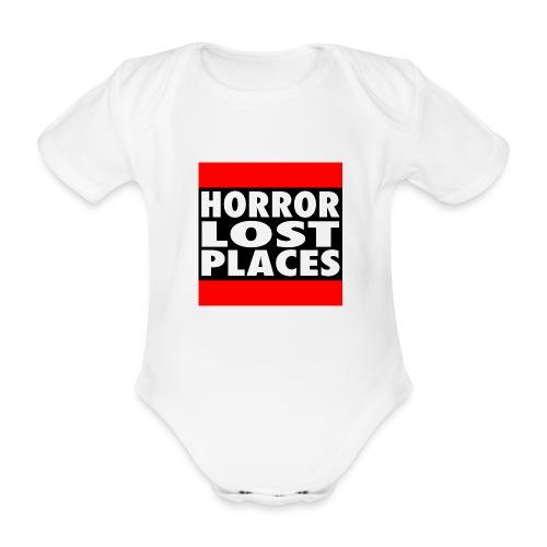 Horror Lost Places - Baby Bio-Kurzarm-Body