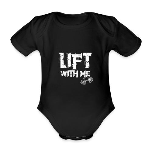 Lift With Me - Body ecologico per neonato a manica corta