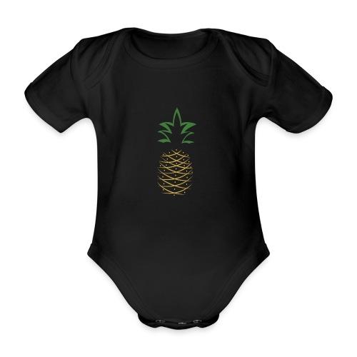 Yay For Today Ananas - Baby Bio-Kurzarm-Body
