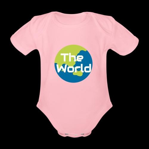The World Earth - Kortærmet babybody, økologisk bomuld