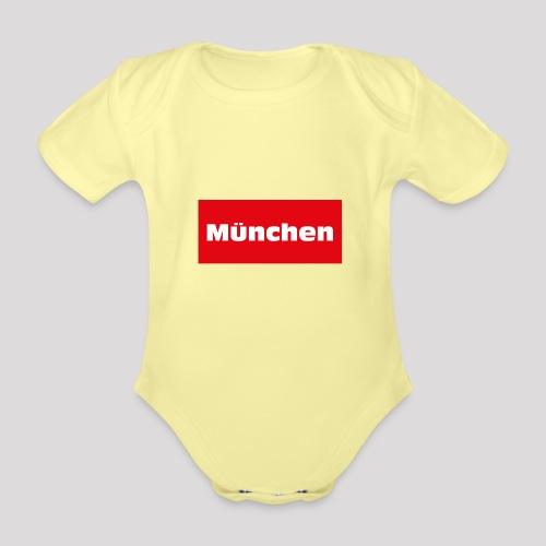 München - Baby Bio-Kurzarm-Body