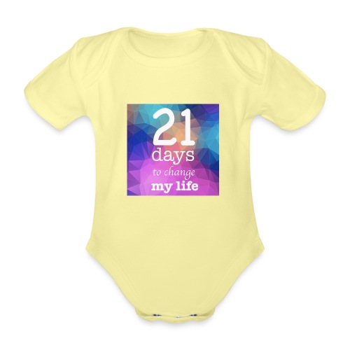 21 days to change my life - Body ecologico per neonato a manica corta