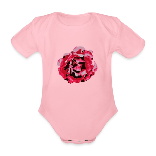 rose - Baby Bio-Kurzarm-Body