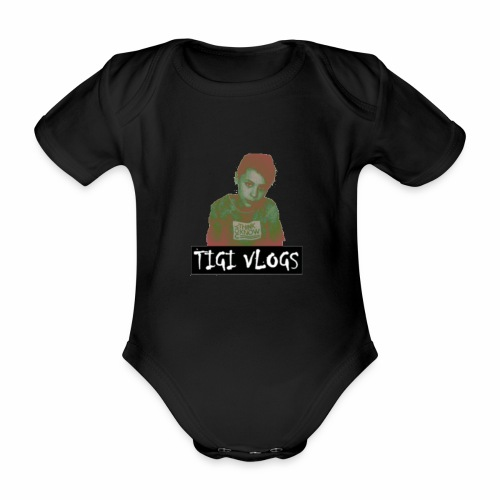 TIGIVLOGS JUL MERCH! - Ekologisk kortärmad babybody