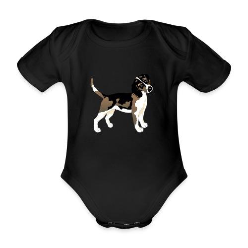 Dog - Ekologisk kortärmad babybody
