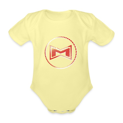 M Wear - Mean Machine Original - Organic Short-sleeved Baby Bodysuit