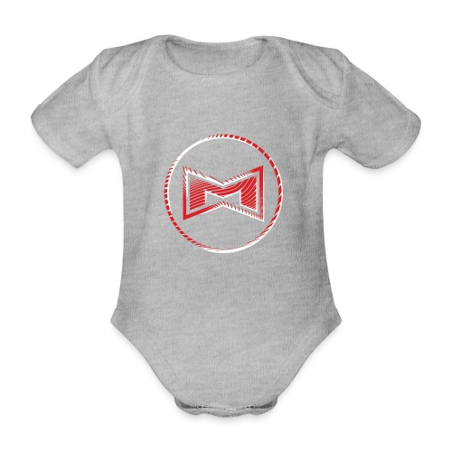 M Wear - Mean Machine Original - Organic Short-sleeved Baby Bodysuit