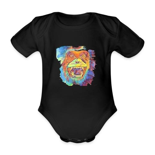 Monkey - Baby Bio-Kurzarm-Body