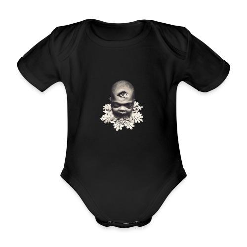 Hiraeth - Baby bio-rompertje met korte mouwen