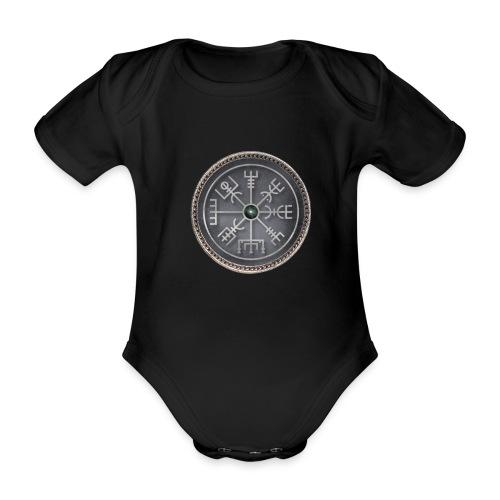 simbolo runico vichingo - Body ecologico per neonato a manica corta