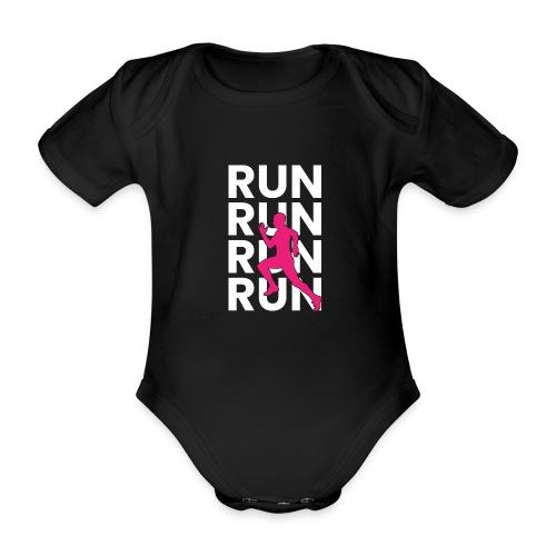 RUN - Baby Bio-Kurzarm-Body