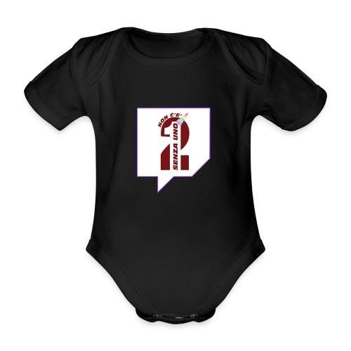 Logo Twitch - Body ecologico per neonato a manica corta