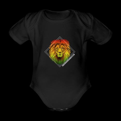 LION HEAD - UNDERGROUNDSOUNDSYSTEM - Baby Bio-Kurzarm-Body